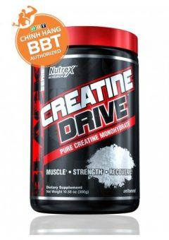 Creatine Drive - Tăng sức bền, khối lượng cơ bắp và khả năng tập luyện