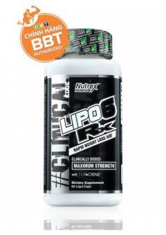 Nutrex Lipo-6 Rx thực phẩm giảm cân hiệu quả thúc đẩy sự sinh nhiệt trong cơ thể
