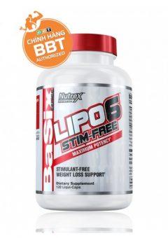 Nutrex LIPO 6 Stim-Free thực phẩm giảm cân hiệu quả không kích thích