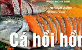 Giá trị dinh dưỡng cá hồi hồng Thái Bình Dương - Nguồn protein cho gym