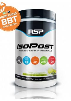 IsoPost Recovery Formula tăng cơ giảm mỡ