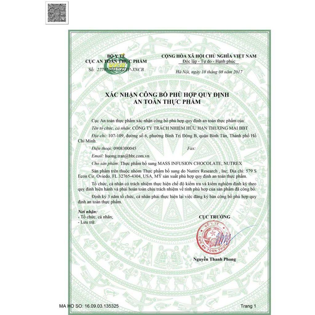 Mẫu giấy phép vệ sinh an toàn thực phẩm