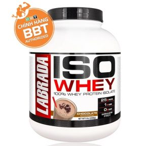 ISO Whey của Labrada 100% whey protein isolate nhanh rất tinh khiết