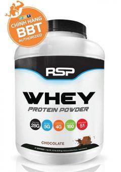 RSP Whey protein hấp thu nhanh giá kinh tế dùng được trong 2 tháng